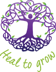 Heal to grow Logo